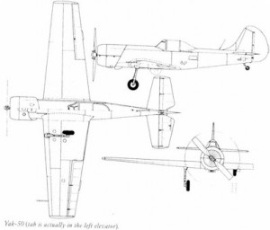 Yak 50 profile